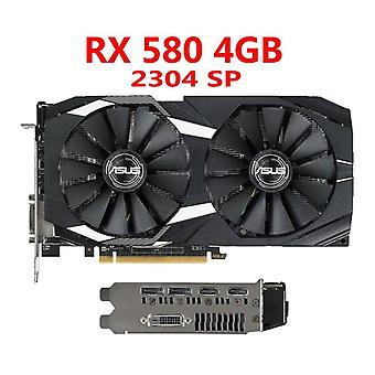 Asus Video Card Rx 580 4GB 256bit Gddr5 Grafica Pentru Amd Rx 500 Seria Vga