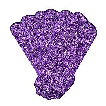 6 PCS Flat mop replacement cloth