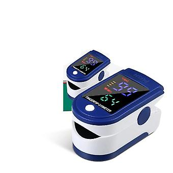 Medical Mini Finger Pulse Oximeter, Blood Oxygen Heart Monitor Led Saturometro