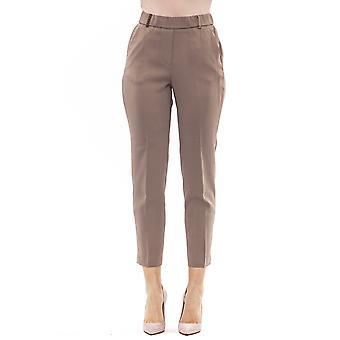 Beige Trousers Peserico Women