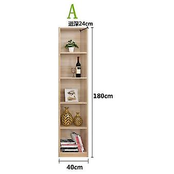 Simple Shelf With Posthumous Ark Contemporary Bookcase