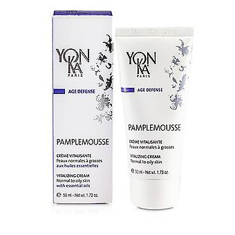 Yonka Age Defense Pamplemousse Creme - Revitalizing, Protective (Normal To Oily Skin) 50ml/1.73oz