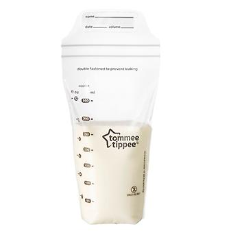 Tommee Tippee Closer to Nature Milk Storage Bags- 36 Pack