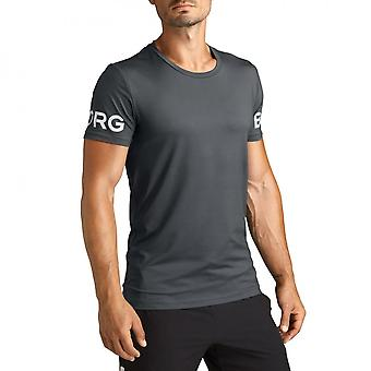 Bjorn Borg Hydro Pro Active T-Shirt, Grey Shade