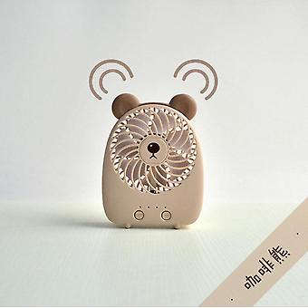 Mini fan halter muoti luova söpö lemmikki söpö lataus USB käsi pitää pieni tuuletin