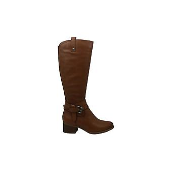 Naturalizer Womens Kim Leather Round Toe Knee High Fashion Boots