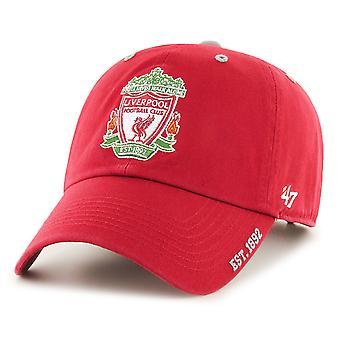 47 العلامة التجارية استرخاء تناسب كاب - تنظيف نادي ليفربول الأحمر