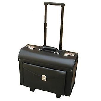 Nahka liikkuvat matkatavarat, naisten kosmeettinen matkalaukku