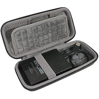 FengChun Hart Reise Schutz Hülle Etui Tasche für WD My Passport Mobile WDBYNN0010BBK-WESN 1TB 2TB