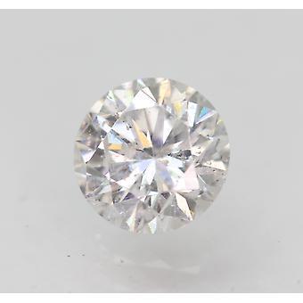 Sertifioitu 0,71 karat D SI1 pyöreä brilliant parannettu luonnollinen löysä timantti 5,64mm