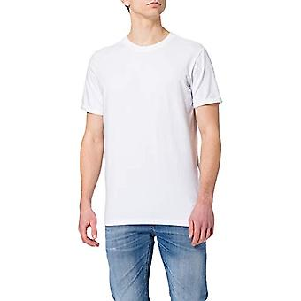 JACK & JONES JPRBLALOGO Spring Tee SS Crew Neck Noos T-Shirt, White/Fit: Reg Fit, XXL Men's