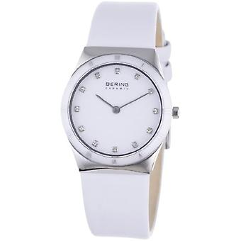 BERING Analog Watch Men's Quartz with Leather Strap 32230-684
