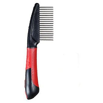 Yagu Blackline Comb Wide 17 Puas (Dogs , Grooming & Wellbeing , Brushes & Combs)
