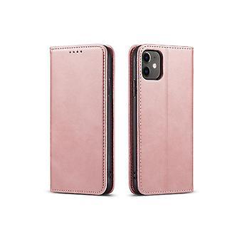 Flip Folio Ledertasche für Iphone 5 rosa pns-4968