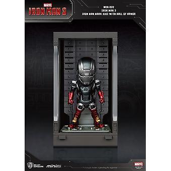 Iron Man 3 mini muna hyökkäys toiminta hahmo sali haarniska rauta mies merkki XXII 8 cm