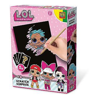 LOL Overraskelse - Barnas Scratch Overraskelse Samlekort Spillsett (Flerfarget)