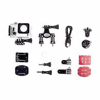 Duo Dual Camera Pro Packing, Hd Wifi Waterproof Action Cam, Lcd Touch Screen