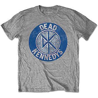 Dead Kennedys - Vintage Circle Unisex X-Large T-Shirt - Grigio