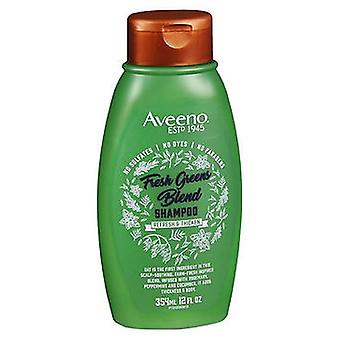 Aveeno Aveeno Refresh & Thicken Fresh Greens Blend Shampoo, 12 Oz