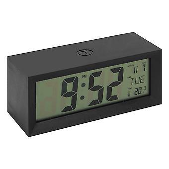 ויליאם WIDDOP LCD שעון מעורר רב תכליתי - שחור