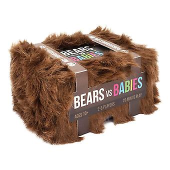 Bears vs Babies - A Monster-Building Card Game - Family-Friendly Party Games