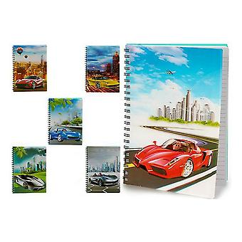 Notebook Cars A4