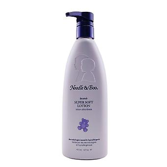 Noodle & Boo Super Soft Lotion - Lavender - For Face & Body (Dermatologist-Tested & Hypoallergenic) 473ml/16oz
