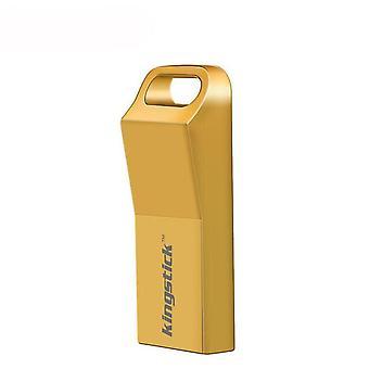 Mini USB Stick USB2.0 Flash Drive Metall Pen Drive Portable Memory Stick U Disk GELB