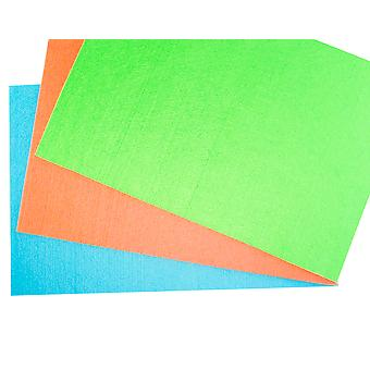 Large A3 Airforce Blue Stiffened Felt Sheet for Crafts