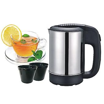 0.5L mini electric kettle tea coffee stainless steel 1000w portable travel water boiler pot for hotel family trip
