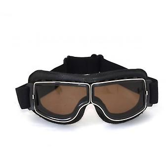 Retro Goggles Leather Motorcycle Goggles 2