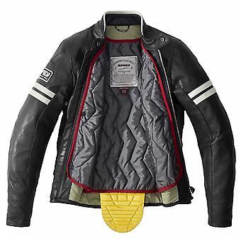Spidi GB Vintage CE Jacket Black WHT 46 P206 454