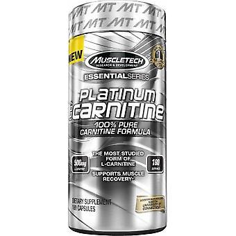 Platinum 100% Carnitine, 500mg - 180 caps
