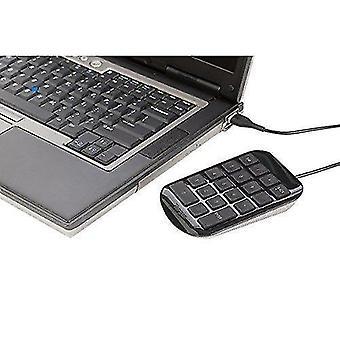 Numeric keypads usb numeric keypad / number pad for pc mac- black - peripheral