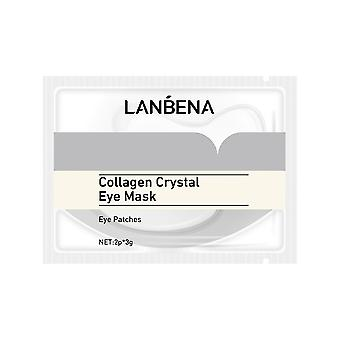 Lanbena 10 Pieces Of Collagen Eye Mask To Remove Dark Circles Under The Eyes