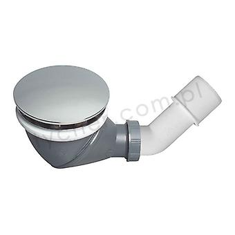 Wirquin James Multi Directional Shower Waste Drain 90mm 360 degree with Cap C...