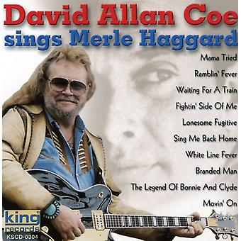David Allan Coe - synger Merle Haggard [CD] USA import