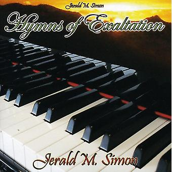 Jerald M. Simon - Hymns of Exaltation [CD] USA import