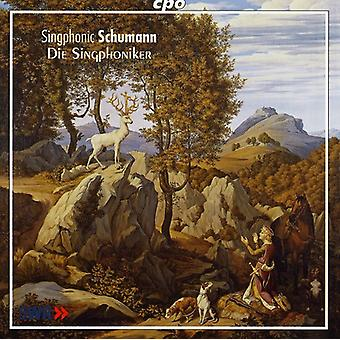 R. Schumann - Schumann: Parte mas canciones para la importación de los E.e.u.u. de voces masculinas [CD]