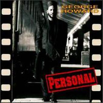 George Howard - Personal [CD] USA import