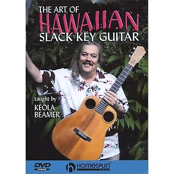 Art of Hawaiian Slack Key Guitar [DVD] USA import