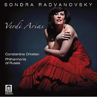 G. Verdi - Verdi Arias [CD] USA import