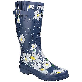 Cotswold Womens Burghley Waterproof Pull On Wellington Boot Daisy