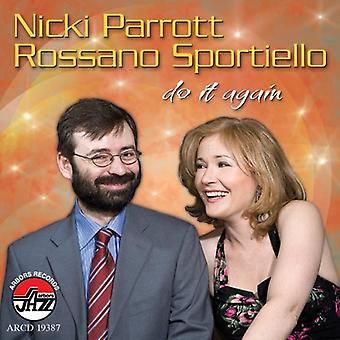 Nicki Parrott & Sportiello - Do It Again [CD] USA import