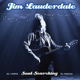 Jim Lauderdale - Soul Searching: Vol 1. Memphis / Vol 2. Nashville [CD] USA import