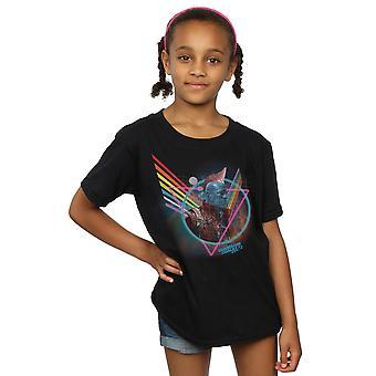 Marvel meisjes hoeders van de Galaxy Neon Yondu T-Shirt