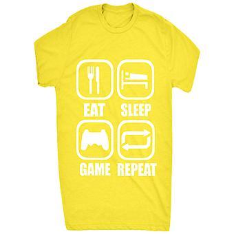 Słynny jeść snu gra powtarzanie