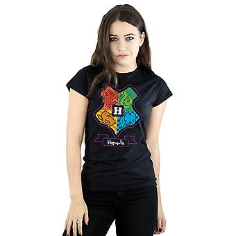 Hogwarts Junior de la mujer de Harry Potter Crest camiseta