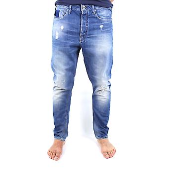 G-Star Type C 3D Loose Medium Aged Destroy Scatter Denim Jeans