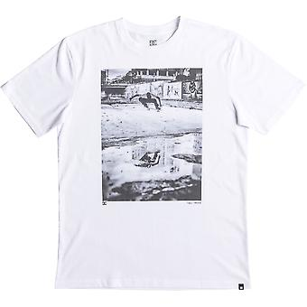 DC Tiago Switch Ollie Short Sleeve T-Shirt en blanc neige